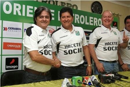 Oriente Petrolero - Jose Ernesto Álvarez - Eduardo Villegas - DaleOoo.com página del Club Oriente Petrolero