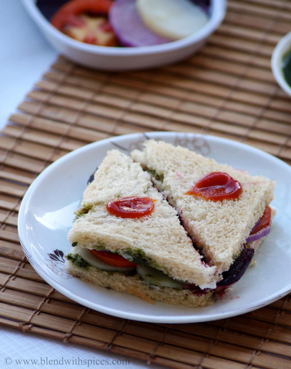 ... sandwich recipe, mumbai sandwich recipe, vegetable sandwich recipes