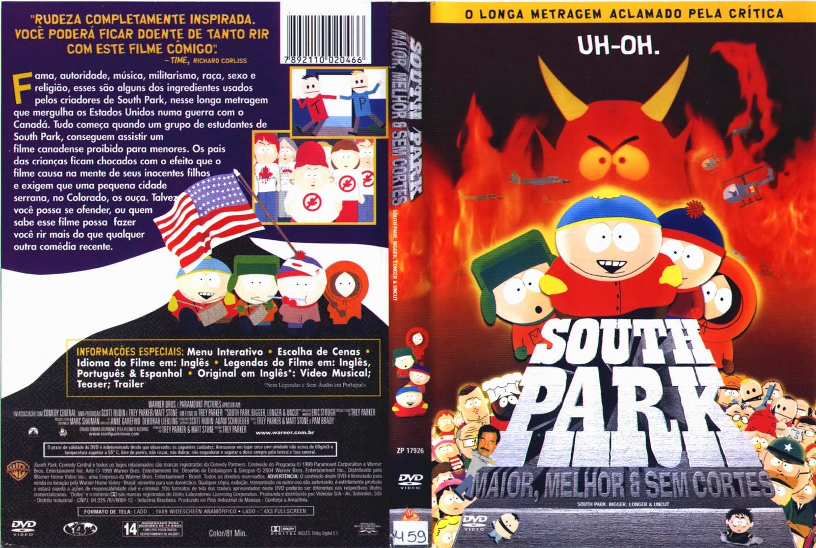 south park maior melhor e sem cortes south park online