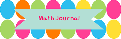 Free Math Journal Lables A Modern Teacher