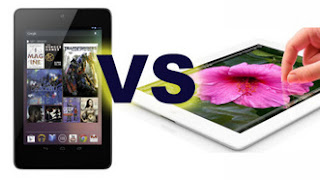 Nexus 7 vs Apple New iPad
