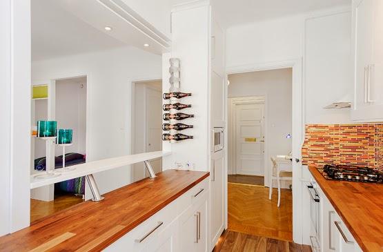 Cocina abierta archivos rojosill n - Cocinas con pasaplatos al salon ...