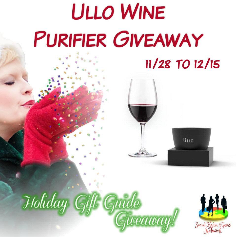 Ullo Wine Purifier Giveaway