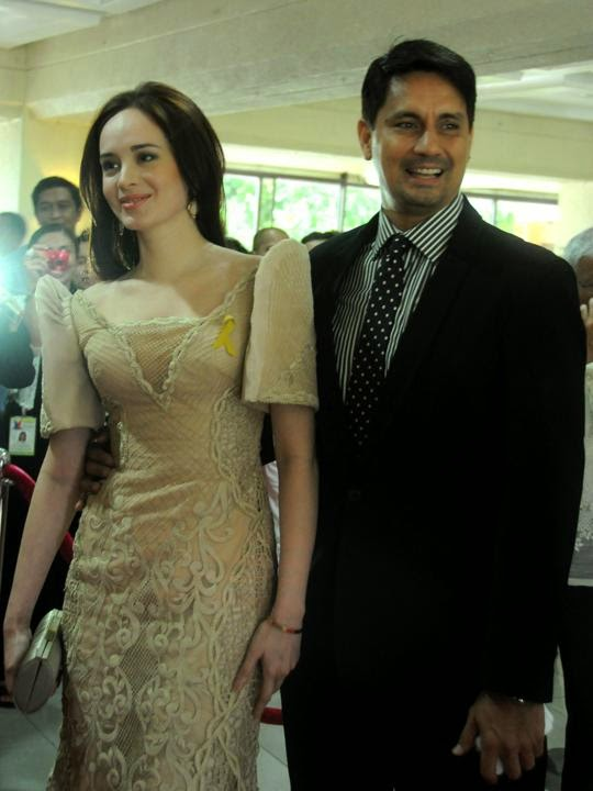 Richard and Lucy Torres Gomez SONA 2014