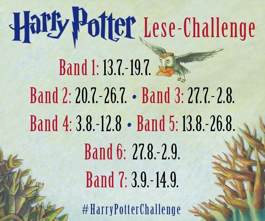 Harry Potter Lesechallenge
