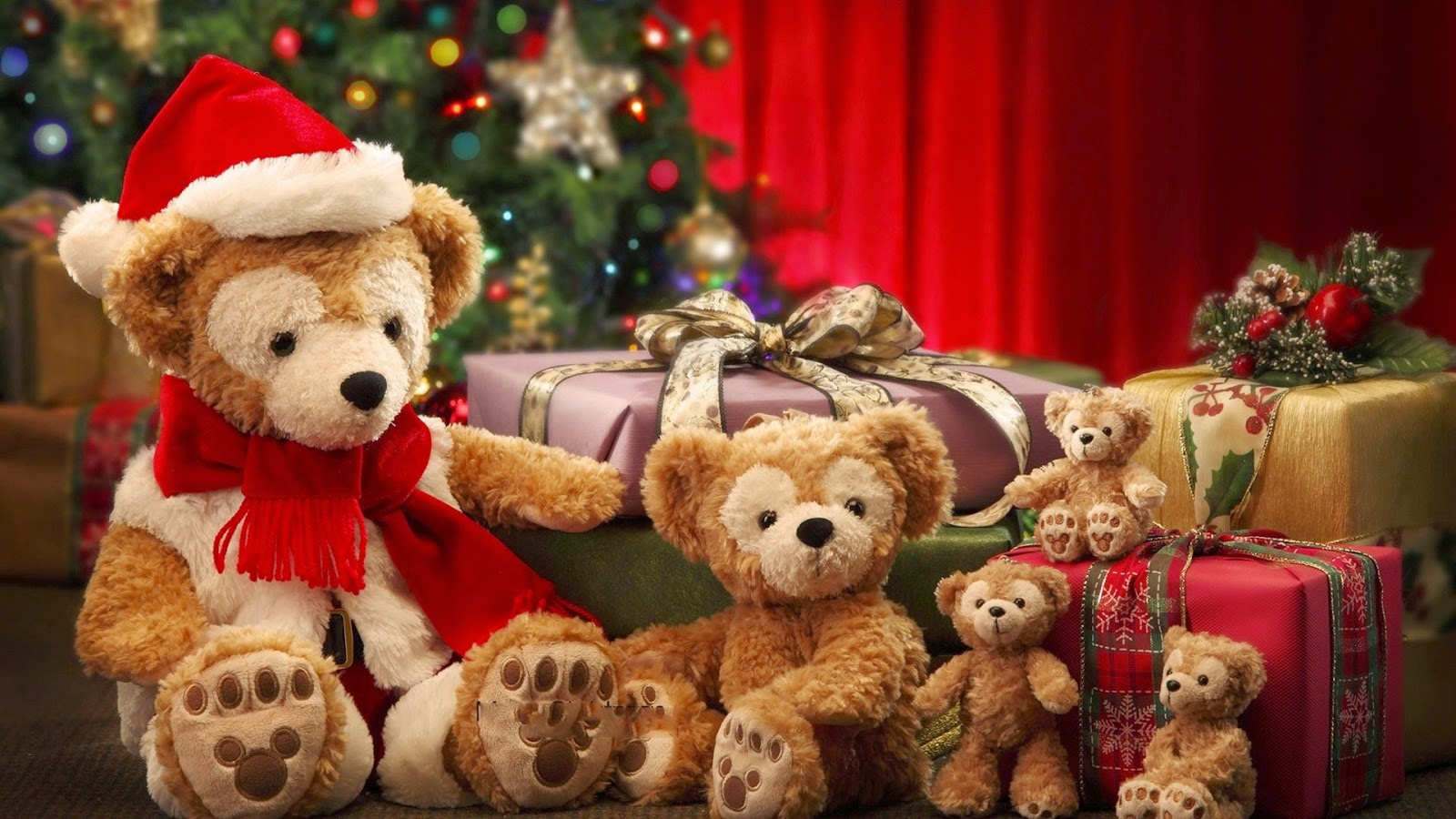 Cute-teddy-bear-with-Christmas-hat-gift-box-image-picture-wallpaper.jpg