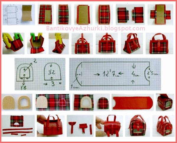Как сделать своими руками сумку для кукол 101