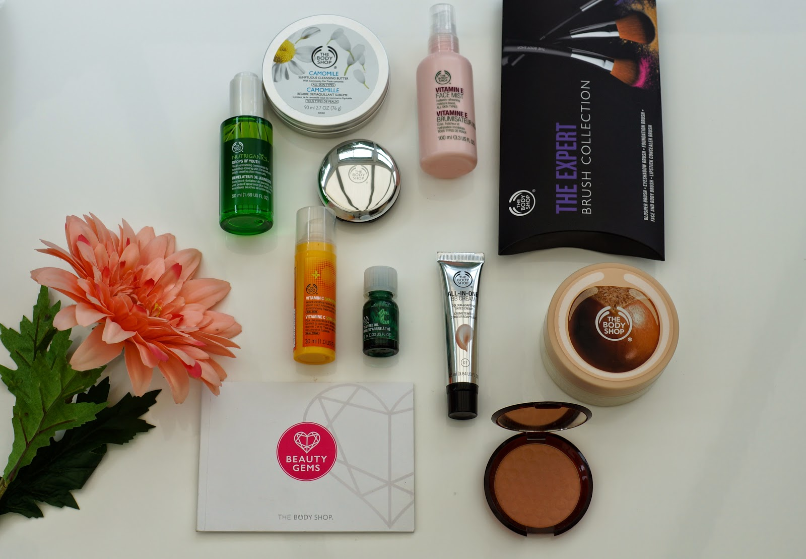 the best products from the body shop