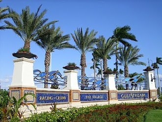 Gulfstream Park Race Track & Casino and Village at GP retail complex, Hallandale Beach, FL
