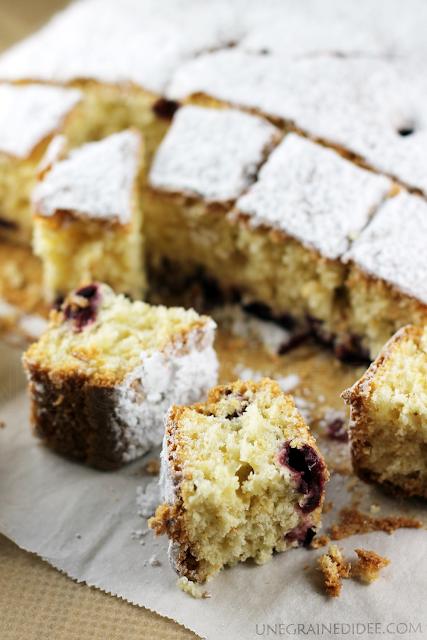 Gâteau Lait Amande Cerises Griottes