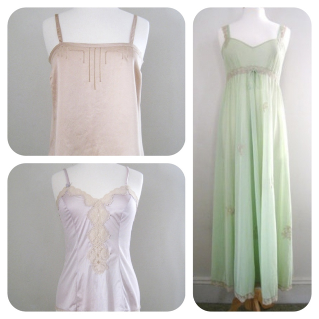 shop vintage and retro lingerie at CutandChicVintage