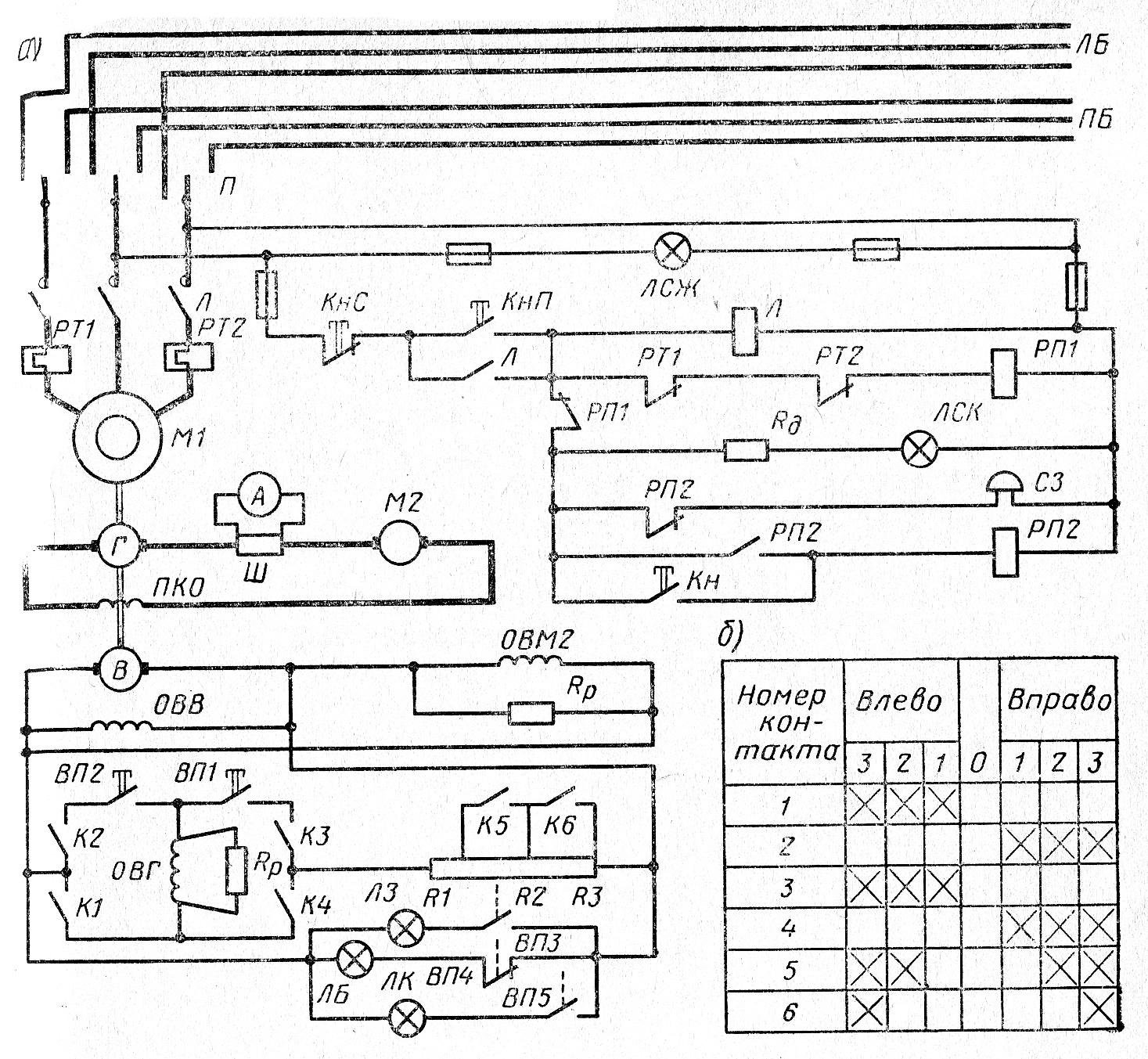 торможение эл двигателей схема