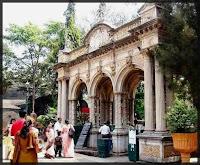 Entrance Victoria Garden
