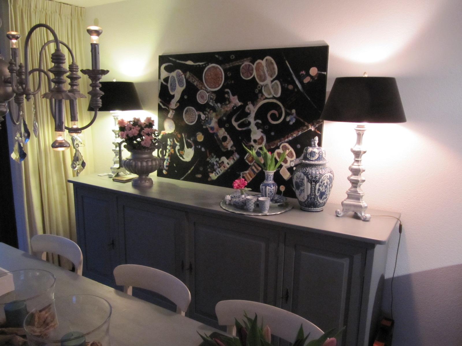 Is interieur styling j hagenbeuk - Schilderij in de kamer ...
