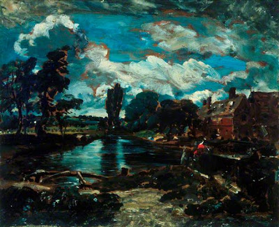 John Constable - Flatford Mill from a lock on the Stour,1811.