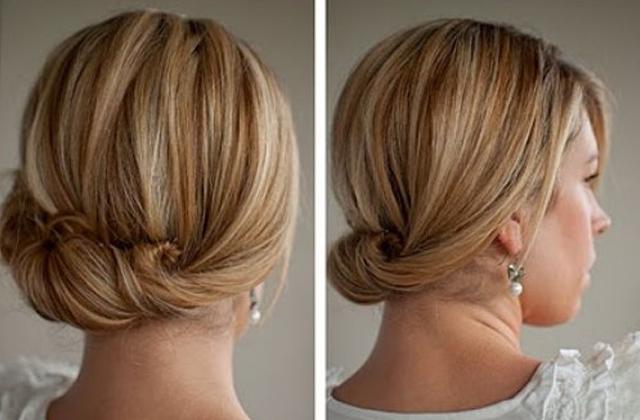 Легкие прически на средние жидкие волосы