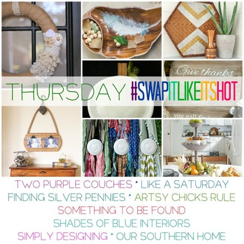 Swap It Like It's Hot – Thrifted Makeovers (Thursday)