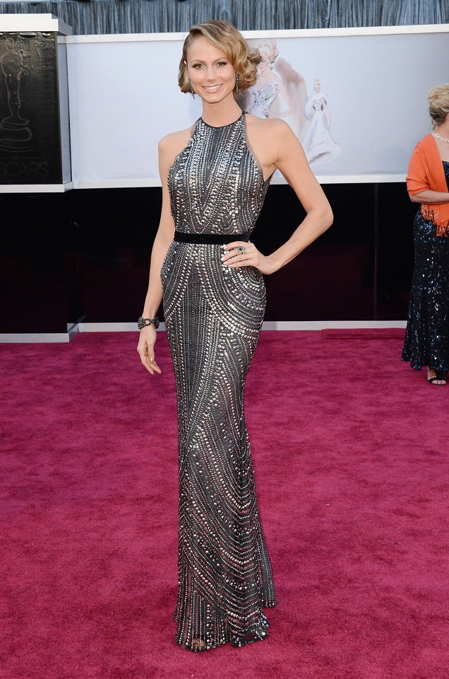 Stacy Keibler - Celebrity Fashion at the 2013 Oscars