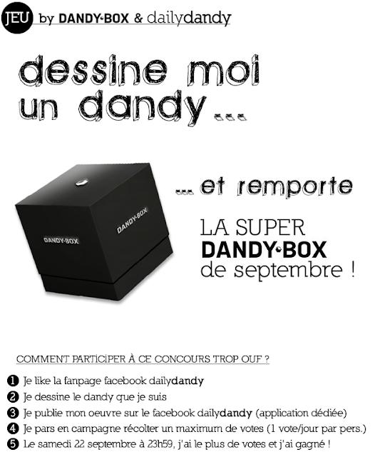 1 Dandybox à gagner: box pour homme