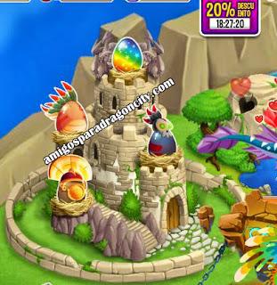imagen de los huevos de los dragones aztecas de dragon city