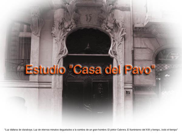 """Estudio """"Casa del Pavo"""""""
