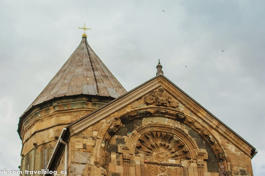 Крыша собора Светицховели