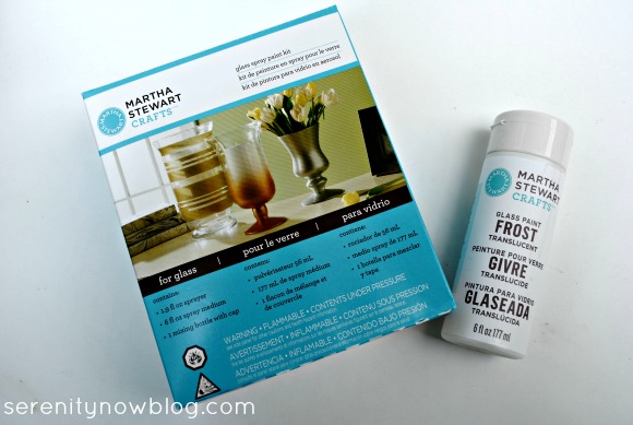 Serenity now martha stewart crafts sneak peek and haul video for Martha stewart crafts spray paint kit