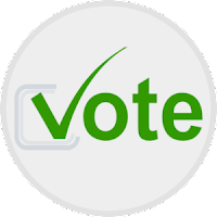 vote button