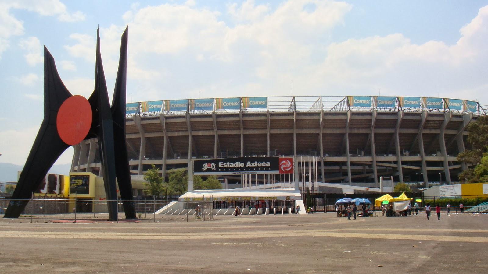 Chilango tours estadio azteca futbol mexicano for Puerta 1 estadio azteca