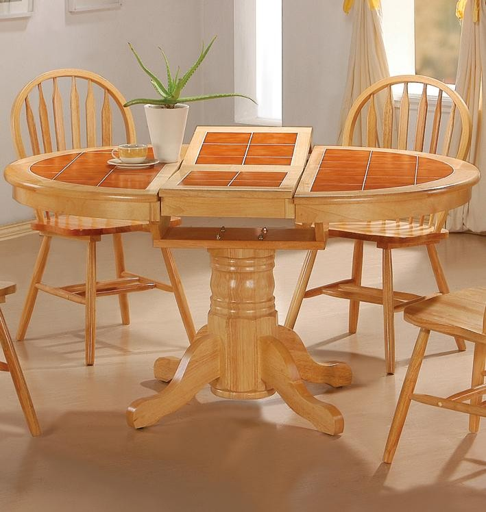 Tile top tables dining room furniture home furniture for Best dining room tables