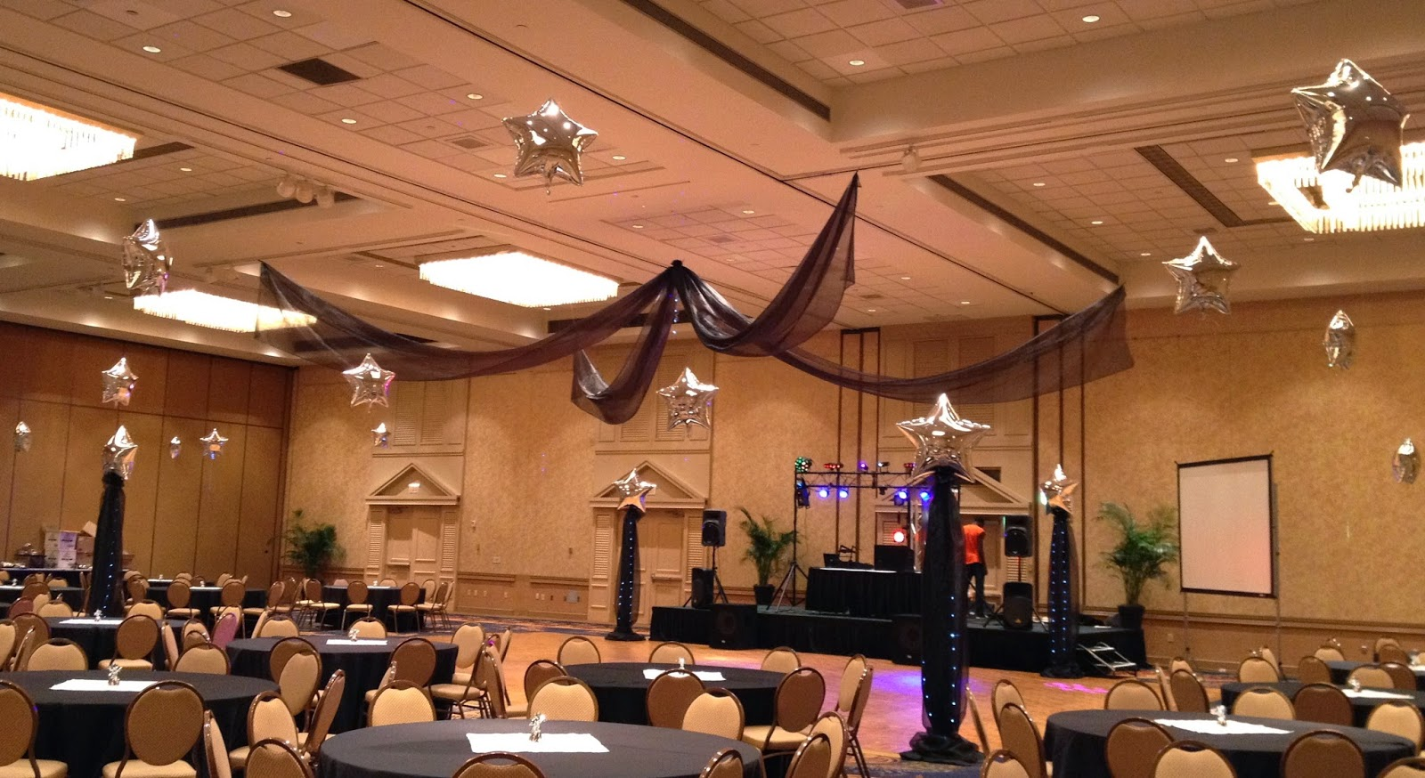 Party people event decorating company night under the for Decor company
