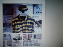 Imagen de una vitrina del Museo Penitenciario Argentino.