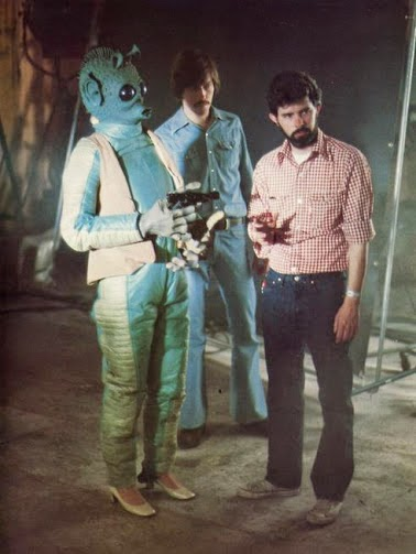 star wars behind the scenes photos