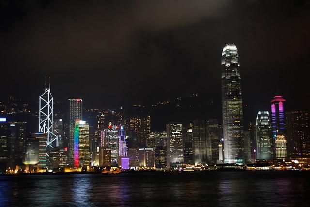 Skyline de Hong Kong (Main island) desde Kowloon.