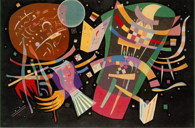 Composition X, (1939), Kandinsky