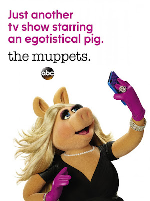 The Muppets Teaser Television Poster - Miss Piggy