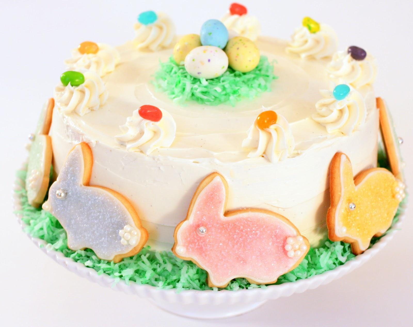 Tish Boyle Sweet Dreams: Chocolate Easter Cake with Vanilla Malt ...