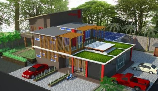 disain atap rumah minimalis