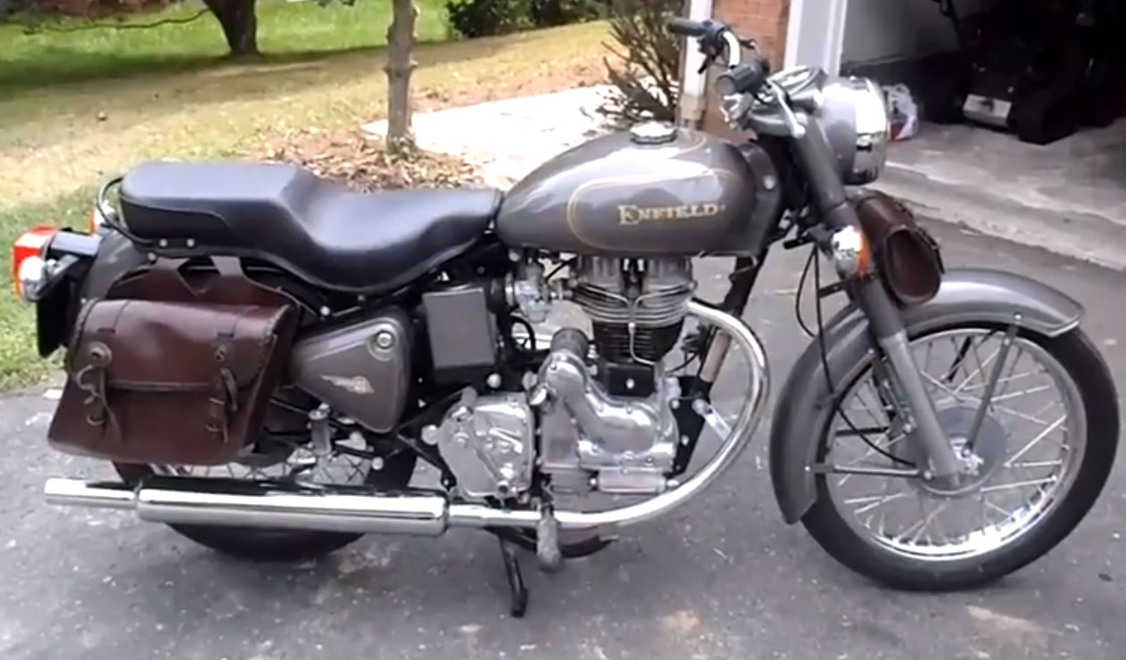 RoyalEnfields.com: 1998 Royal Enfield emerges from 14 ...