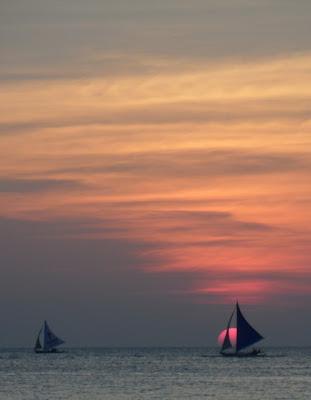 Sky, sea and sunset