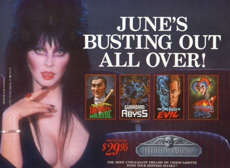 June is busting out all over Elvira ad