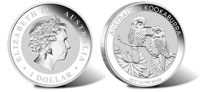 Gold Silver Currency 2013 Silver Kookaburra Bullion Coins