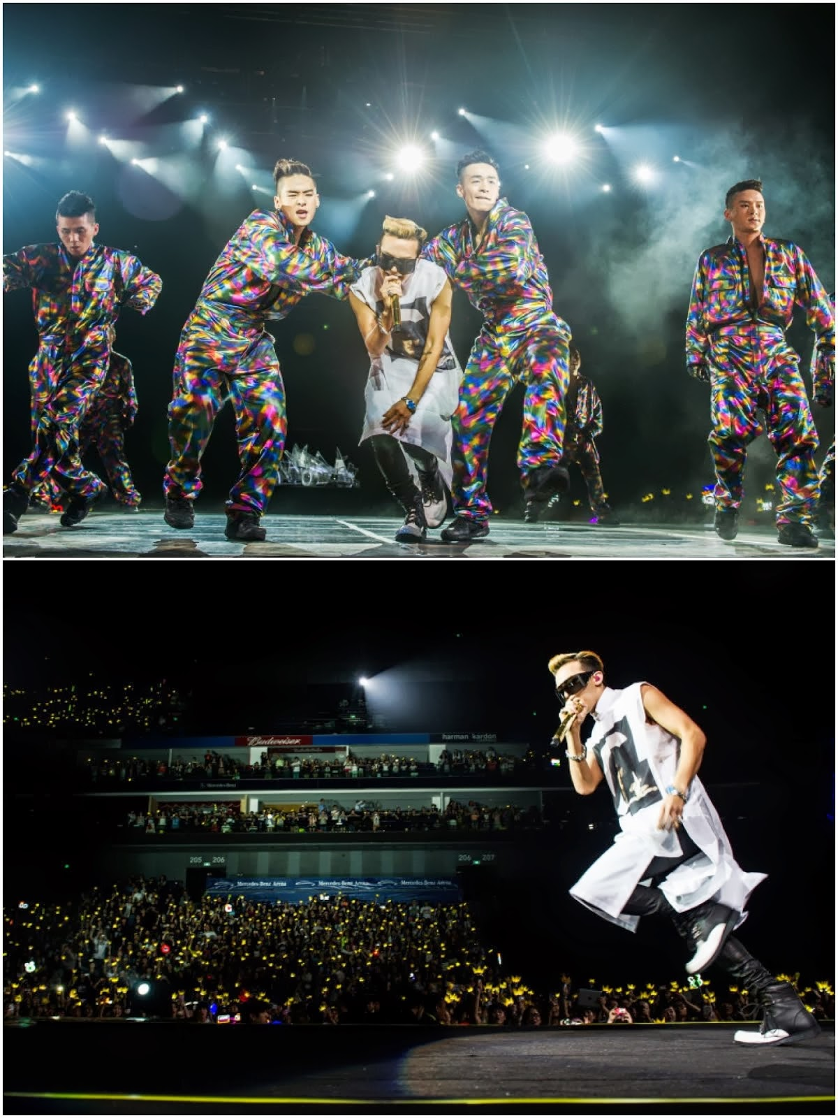 00O00 Menswear Blog: G-Dragon from Big Bang in Givenchy - World Tour 2013 Shanghai Concert May 2013