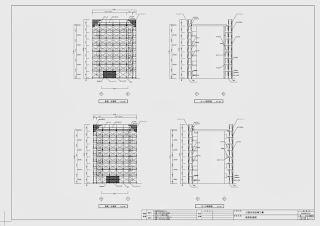 公営住宅 UR 市営 町営 県営 仮設計画図 立面図 断面図