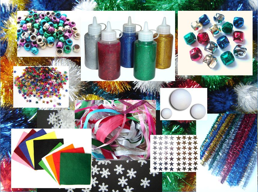 Art and craft for children blog favorite christmas craft supplies