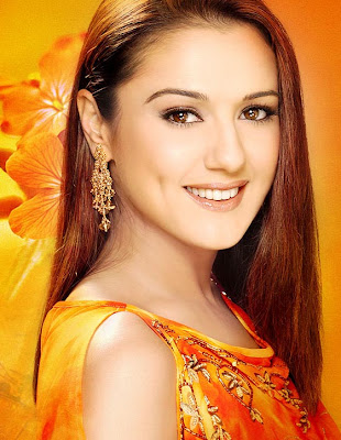 Artis Cantik India Preity Zinta