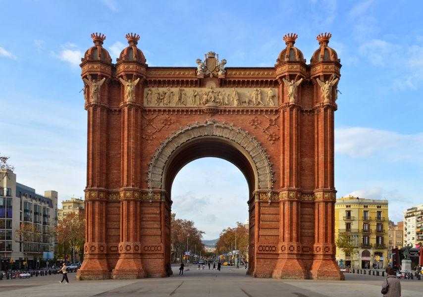 Arco del Triunfo Barcelona - Escapada a Barcelona