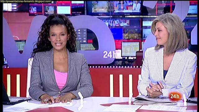 Beatriz Perez-Aranda y Desirée Ndjambo