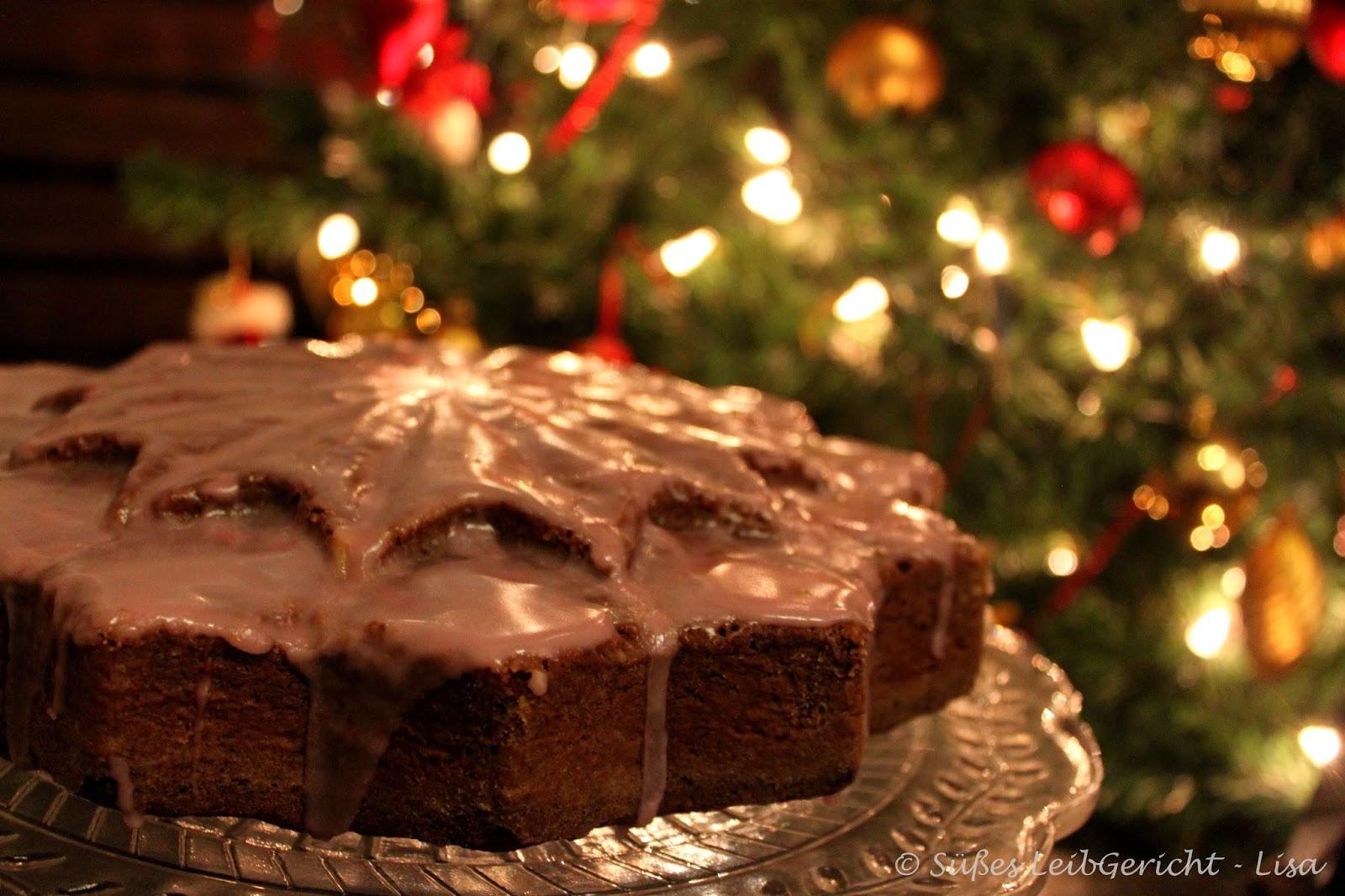Süßes leibgericht: glühwein schoko kuchen