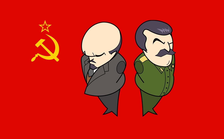 Papel de parede de Lenin e Stalin - O Marxista-Leninista